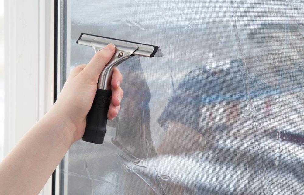 Raamfolie voor op de ramen