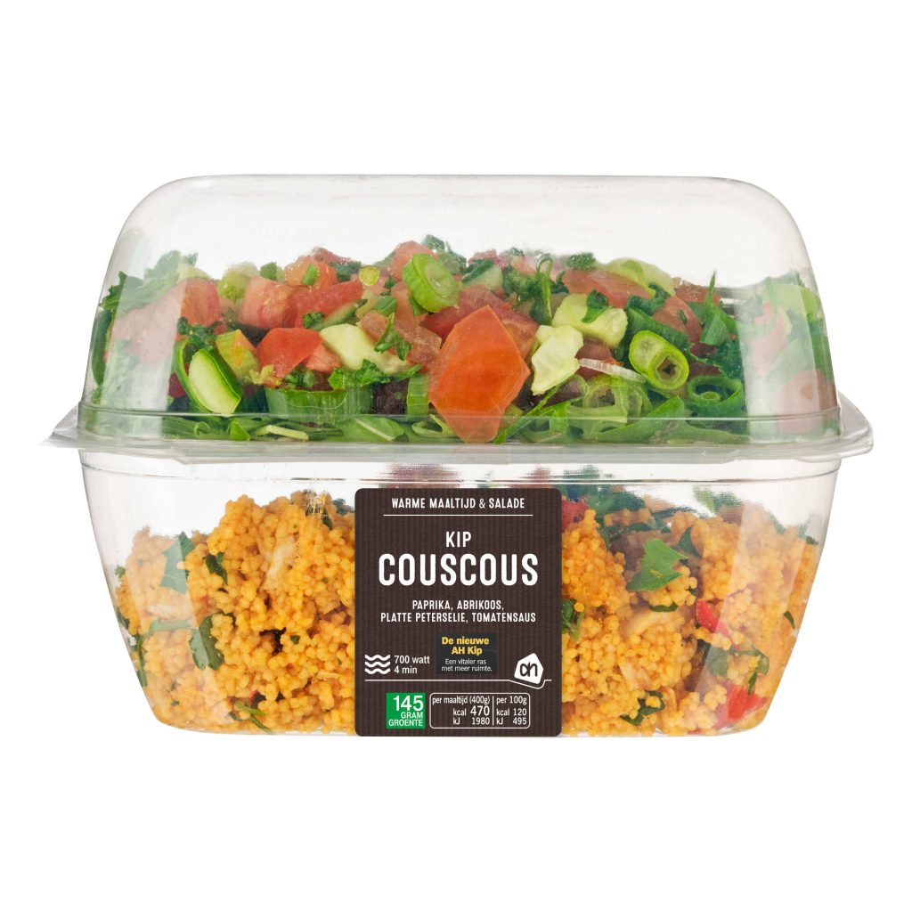 voedselverpakking van Naber Plastics