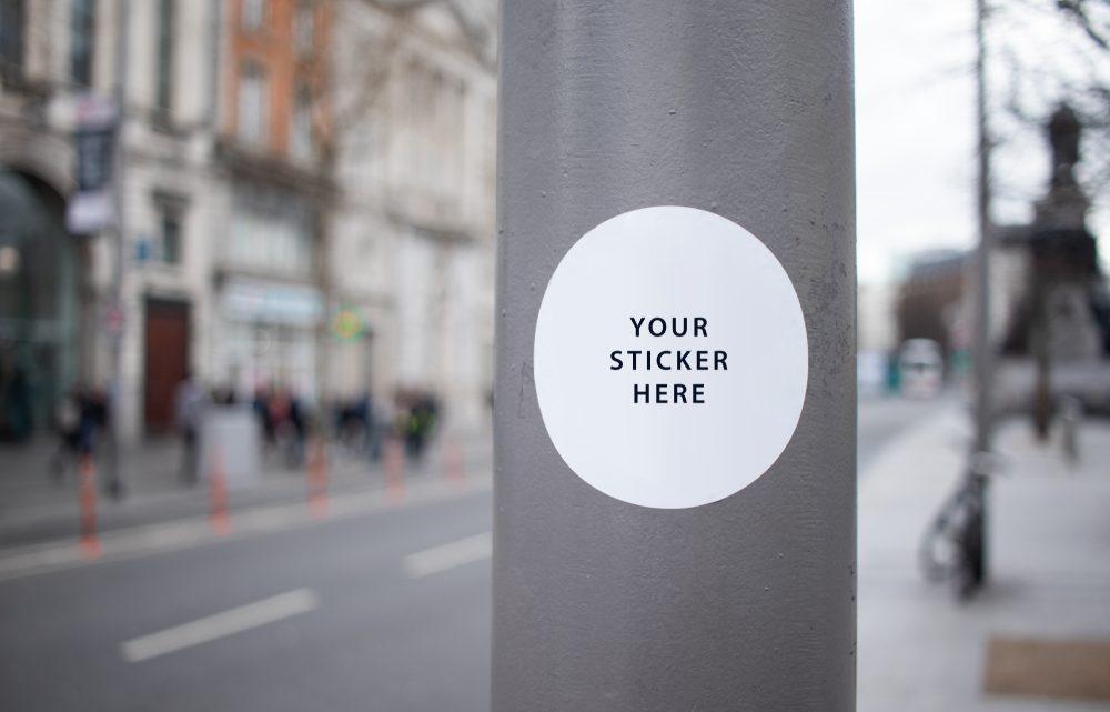 Eigen stickers laten maken